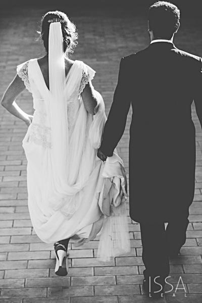 Itsaso y Adolfo se casan en Málaga